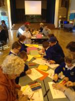 Parents and carers joined us for activities