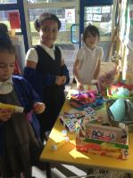 Year 2 used lots of different things to decorate their box