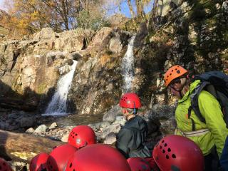 Ghyll Head shower!